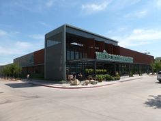 Whole Foods Market  Oklahoma City, OK  RHEINZINK prePATINA Graphite Gray Zinc, Perforated Double Lock Standing Seam Panels edmond oklahoma real estate www.lodihagler.com