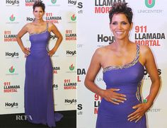 Halle Berry In Roberto Cavalli - The Call Buenos Aires Premiere