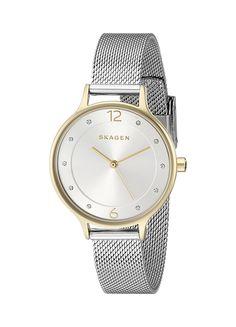 Amazon.com: Skagen Women's SKW2340 Crystal-Accented Two-Tone Stainless Steel Watch: Skagen: Watches