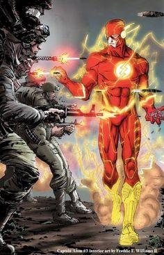 The Flash by Freddie E. Williams II