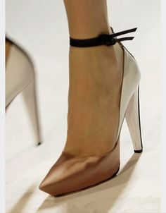 Pointy shoes definitely the best