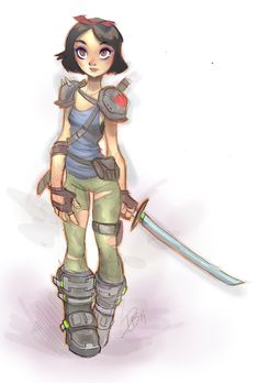Snow White: Post-Apocalypse by DaveJorel.deviantart.com on @DeviantArt