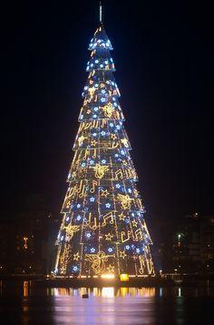 Árvore de Natal da Lagoa no Rio de Janeiro