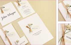 Homemade Wedding Invitations Hd