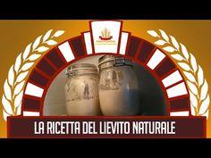 La ricetta del lievito naturale - YouTube
