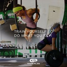 """""""If you say that your goal is to lose fat and gain muscle, then get into the kitchen and into the gym. Take it one day at a time if you have to. Showing up can be difficult, but it's crucial because it puts you in an environment conducive for healthy life change. Your friends, mentors, and coaches can help with the rest! Remember that if it's truly important to you, you can and will do it"""" #CrossFitCraic #SaraMcEvoy #crossfit #motivationmonday #fitspo #inspiration"""