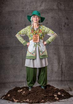 """""""Tuulikki"""" cardigan in eco-cotton"""