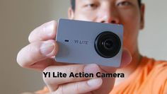 At MWC 2017 YI Technologies showed a new YI Lite Action Camera which seems to have the specs from the original camera, but within YI body including a LCD touch screen. Gopro Hero 4, Dashcam, Wide Angle, Sd Card, Specs, Action, Technology, Touch, Shopping