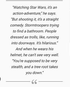 Adam Driver on shooting Star Wars