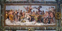 La boda de Eros y Psique - Pintura al fresco, Villa Farnesina, Roma #villafarnesina #eros #psyche #psique #farnesina #rafaelsanzio #roma