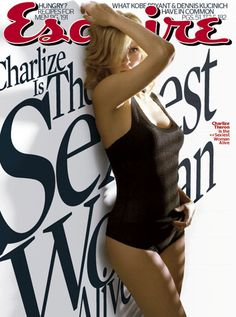 Charlize Theron by Esquire & # s Sexiest Woman Alive Scarlett Johansson, Charlize Theron Photos, Sexy Women, Black Women, Pin Up, Popular Actresses, Femmes Les Plus Sexy, Star Wars, Esquire