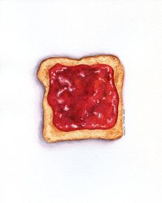 Raspberry Jam on Toast