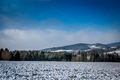 Landscape in Winter by ChristianThür Photography on Creative Market Austria, Winter, Creative, Christian, Mountains, Landscape, Nature, Pictures, Photography