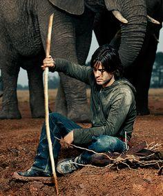 Jared Leto Elephant Fashion Shoot - Photo: Via Jared Leto's website