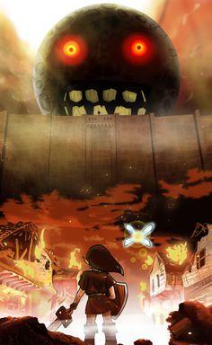 Zelda y Shingeki no Kiojin