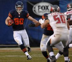 In his first game as a Bear, Marc Mariani returns a punt during a 21-13 win over the Bucs at Soldier Field on Sunday.