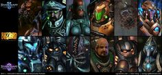 Starcraft, Character Portraits, Movies, Movie Posters, Fictional Characters, Art, Art Background, Films, Film Poster