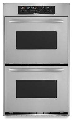 KitchenAid KEBC247VBL Architect II 24 Black Electric Double Wall Oven    Convection KitchenAid. KitchenAid Architect