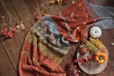 Ravelry: Sunset in Autumn pattern by Knitting For Breakfast