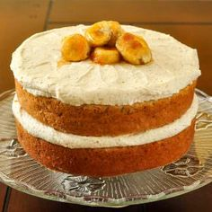 Banana Cake with Brown Butter Frosting