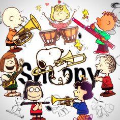 Peanuts music.