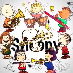 Snoopy and the Peanuts Gang join the Band.