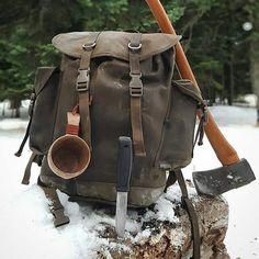 Ready for winter adventures? @bushcraftturk #Morakniv #Garberg #bushcraft #survival #winter #snow #backpack #axe #kuksa #gear #campsite #camplife #nature #naturelover #getoutside #liveauthentic #thegreatoutdoors #thegoodlife #fire #adventure #explore #discover #Mora #knife #Sweden