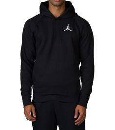 JORDAN+Pullover+hood+Long+sleeves+Hood+with+adjustable+drawstrings+JORDAN+jumpman+logo+Ribbed+hem+and+cuffs+2+pockets