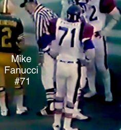 #71 Mike Fanucci DE, 1975 Grey Cup Montreal 8 Eskimos 9