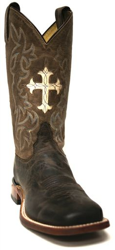 New to STT --  Aren't these Tony Lama® Women's Boots sophisticated? The gold inlay cross stands out and shines so bright with the rich tan Tuscan Goat leather as a backdrop.   SouthTexasTack.com #TonyLama