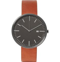 Uniform Wares - 203 Series Brushed-Steel Wristwatch | MR PORTER