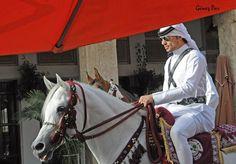 Riding police, Souq Waqif ~ Doha, Qatar
