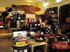 Annabelle Thom's shop in Junction Mall, Nairobi, Kenya Zebu , Photo: © readredred