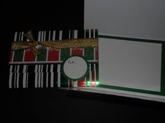 Christmas gift card holder (12-23-2015); idea for future craft shows