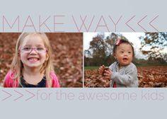 make way: our adoption story