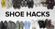 7 Shoe Hacks That Will Change Your Life - How to Quiet squeaky shoes using baby powder, How to tie tennis shoes for comfort, How teabags can help your stinky shoes, The best time to shop for shoes is at night, What to do for tight fitting shoes, How to avoid blisters, How to sooth blisters