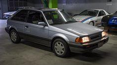 Classic Drive: 1988 Mazda 323 GTX Small, tough, turbocharged, and full of charisma. Digital Dashboard, Ferrari, Mazda Cars, Sport Seats, Subaru Wrx, Latest Cars, Impreza, Cars And Motorcycles, Transportation