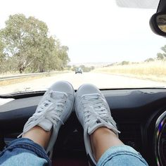 """""""These Adidas Stan Smith's were made for dash hangs"""" - Alison. Source: Instagram…"""