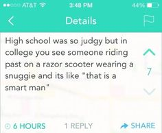 The Difference Between High School and College