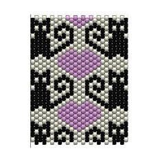 Kitties! Peyote Bracelet - Pattern