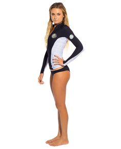 Rip Curl G Bomb 1mm Long Sleeve Front Zip Jacket from LoveSurf