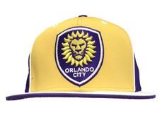 Top Quality Polyester-Spandex Blend Adidas Structured Adjustable Snapback Flat Bill Hat Cap. Embroidered on the Front is a Orlando City SC Team Logo. Made and Designed by Adidas. We want to make sure you have the best experience with Sporting Up. | eBay!
