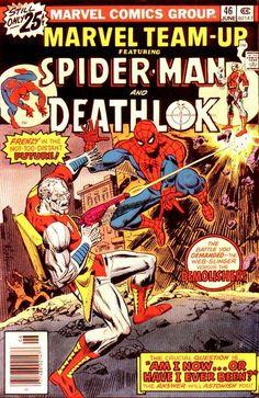 Marvel Team-Up #46 Featuring Spider-Man and Deathlok Marvel Comics Group June…