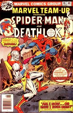 Marvel Team-Up #46  Featuring Spider-Man and Deathlok  Marvel Comics Group  June 1976  $.25