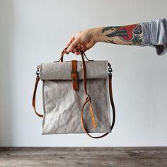 Uashmama Lunch Bag Grey - The Future Kept - 2