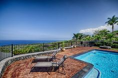 Big Island accommodation - pool, 4 bedrooms and 4 bathrooms $450 per night