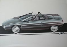 Early sketches by Steve Harper show that Rover was thinking big for its range topper. Heading for the big-time August and the Coupe takes shape. Car Rover, Fancy Cars, Car Sketch, Auto Design, Design Art, Motor Car, Concept Cars, Jaguar, Cool Photos
