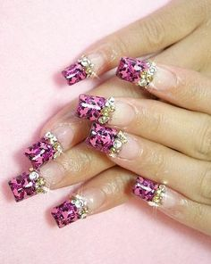 Acrylic Nail Art Pattern Ideas
