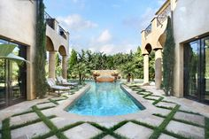 Outdoor Pool Gardens Dream Pools Home Projects Gr Beautiful Homes