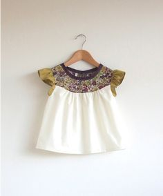 Deer and Doe Datura blouse made from Liberty 'Mitsy' fabric ...